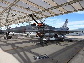 F-16AM MLU Walk Around