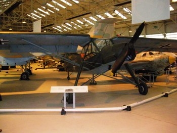 Fieseler Fi-156-C7 Storch Walk Around