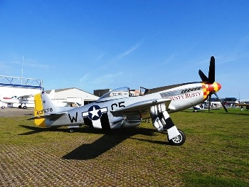 North American P-51D Mustang Walk Around