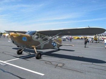 Stinson L-5E Sentinel Walk Around