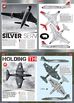 Airfix Model World 2010-2017 - Scale Drawings and Colors