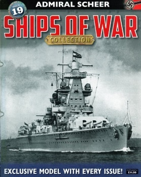 Admiral Scheer (Ships of War Collection №19)