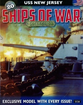 USS New Jersey (Ships of War Collection №20)