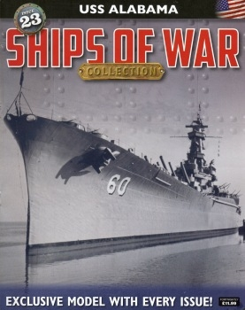 USS Alabama (Ships of War Collection №23)