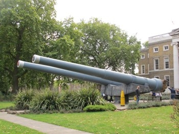 British BL 15 inch Mk I Naval Gun Walk Around