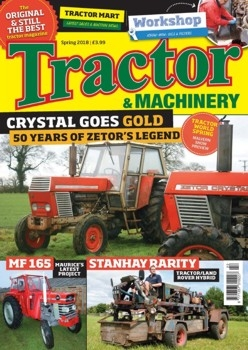 Tractor & Machinery Vol. 24 issue 5 (2018/Spring)