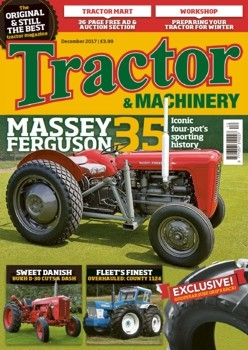 Tractor & Machinery Vol. 24 issue 1 (2017/12)