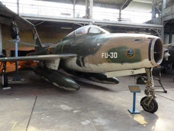 F-84F Thunderstreak Belgium Walk Around