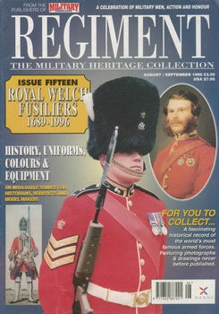 Royal Welsh Fusiliers 1689-1996 (Regiment №15)