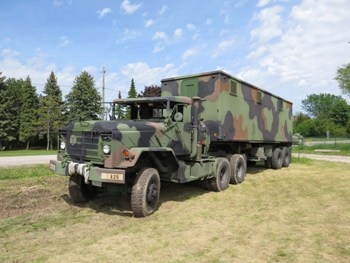 M931 Tractor with M129A2C Trailer Walk Around