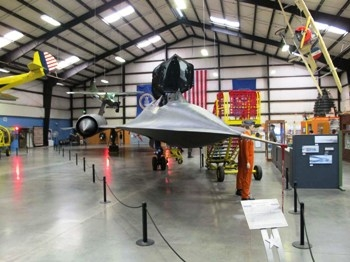 Lockheed SR-71A Blackbird Walk Around