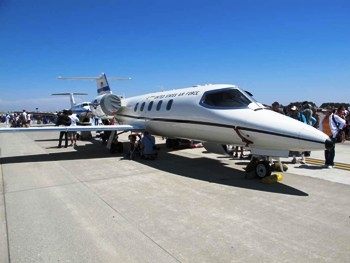 LearJet C-21A Walk Around