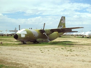 Alenia C-27A Spartan Walk Around