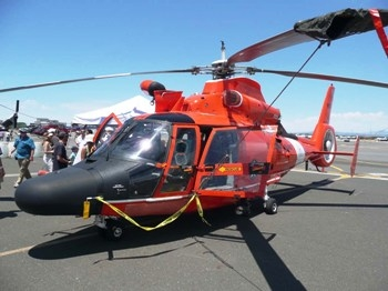 Aerospatiale HH-65C Dolphin Walk Around