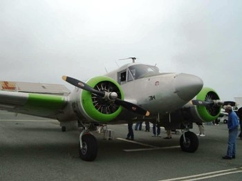 Beech 18 (C-45H) Expediter Walk Around