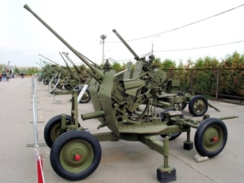 25mm 72-K AA Gun Walk Around