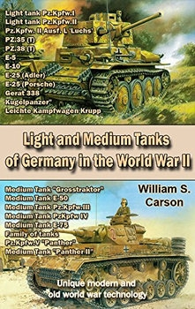 Light and Medium Tanks of Germany in the World War II