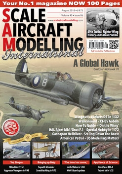 Scale Aircraft Modelling 2018-08