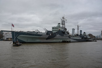 HMS Belfast (Walk Around)