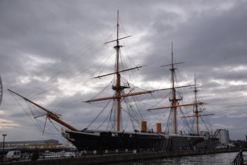 HMS Warrior (Walk Around)