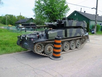 Scimitar FV107 Walk Around