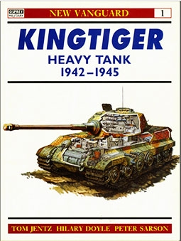 New Vanguard № 1 - Kingtiger Heavy Tank 1942-45