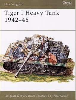 New Vanguard 5 - Tiger I Heavy Tank 1942-45
