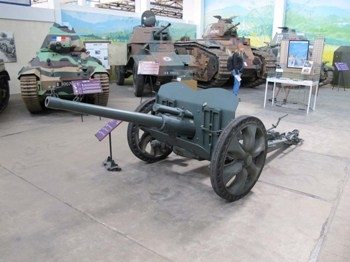 French 47mm SA37 Anti-Tank Gun Walk Around