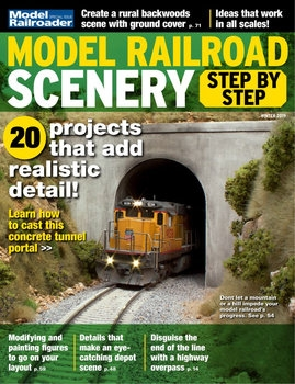 Model Railroad Scenery Step by Step (Model Railroad Special)