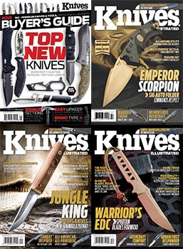 Knives Illustrated - 2018 Full Year Issues Collection
