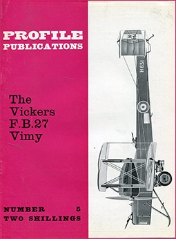 Profile Publications 5 - Vickers F.B.27 Vimy
