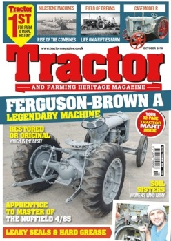 Tractor and Farming Heritage Magazine № 182 (2018/10)