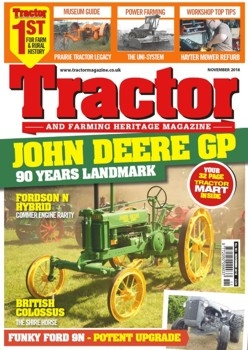 Tractor and Farming Heritage Magazine № 183 (2018/11)