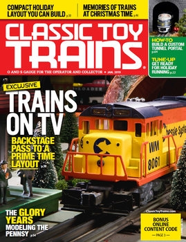 Classic Toy Trains 2019-01