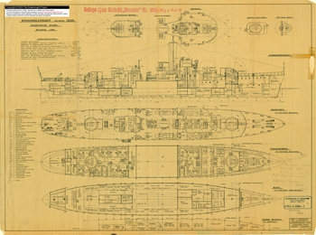 Warships Dreadnought And Other Projects: German Original Plans