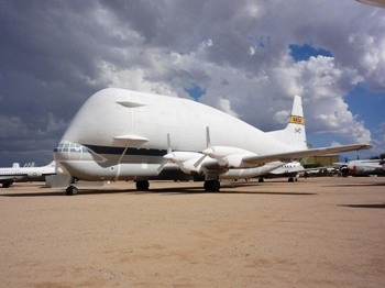 Aero Spacelines 377-SG Super Guppy Walk Around