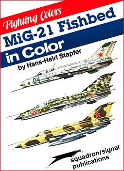 MiG-21 Fishbed in color