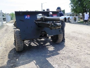 Canadian QF 25pdr Mark II Field Gun Walk Around