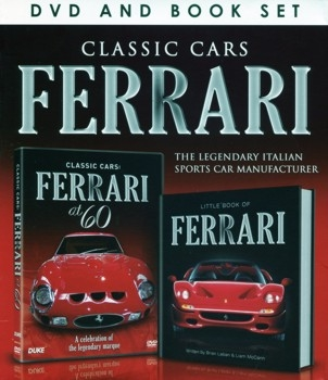 Classic Car Ferrari. The Legendary Italian sports car manufacturer (Book + DVD set)
