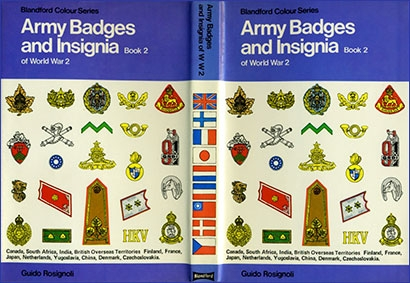 Blandford - Colour Series - Army Badges and Insignia of World War 2 Book 2