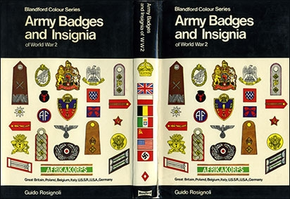 Blandford.  Colour Series.  Army Badges and Insignia of World War 2