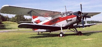 Antonov An-2 Walk Around