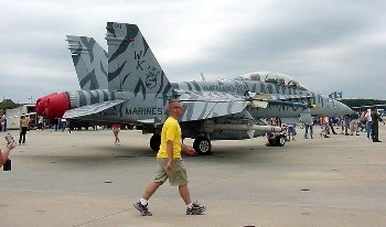 F-18C Walk Around