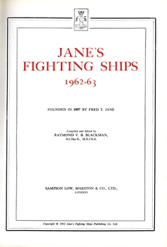 Jane's Fighting Ships 1962-63