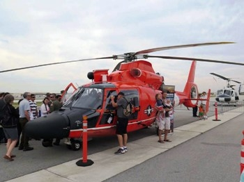 Eurocopter MH-65D Dolphin Walk Around