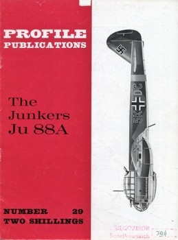 The Junkers Ju 88A (Aircraft Profile № 29)