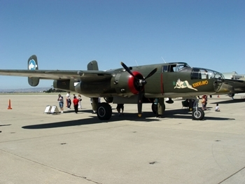 Collings Foundation B-25J Walk Around