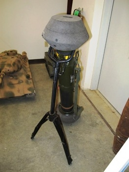 M47 Dragon Anti-Tank Missile Launcher with M222 Missile Walk Around