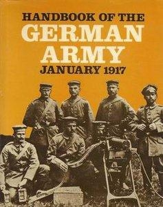 Handbook of the German Army in War: January 1917