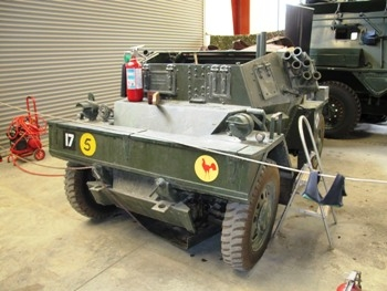 Daimler Dingo Scout Car Walk Around